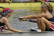 2006, U23 Rowing Championships, Hazewinkel, BELGIUM Thursday, 20.07.2006. USA BW8+,. Photo  Peter Spurrier/Intersport Images email images@intersport-images.com....[Mandatory Credit Peter Spurrier/ Intersport Images] Rowing Course, Bloso, Hazewinkel. BELGUIM
