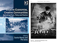 Book, 'Creative Economies, Creative Communities.'<br />