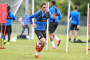 Forest Green Rovers Elliott Frear during the Forest Green Rovers Training at the Cirencester Agricultural College, Cirencester, United Kingdom on 12 July 2016. Photo by Shane Healey.