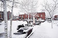Heritage Square / Downtown Flagstaff in Winter, Arizona