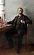 Alfred Nobel (1833-96) Swedish chemist and inventor. Dynamite. Endowed Nobel Prizes