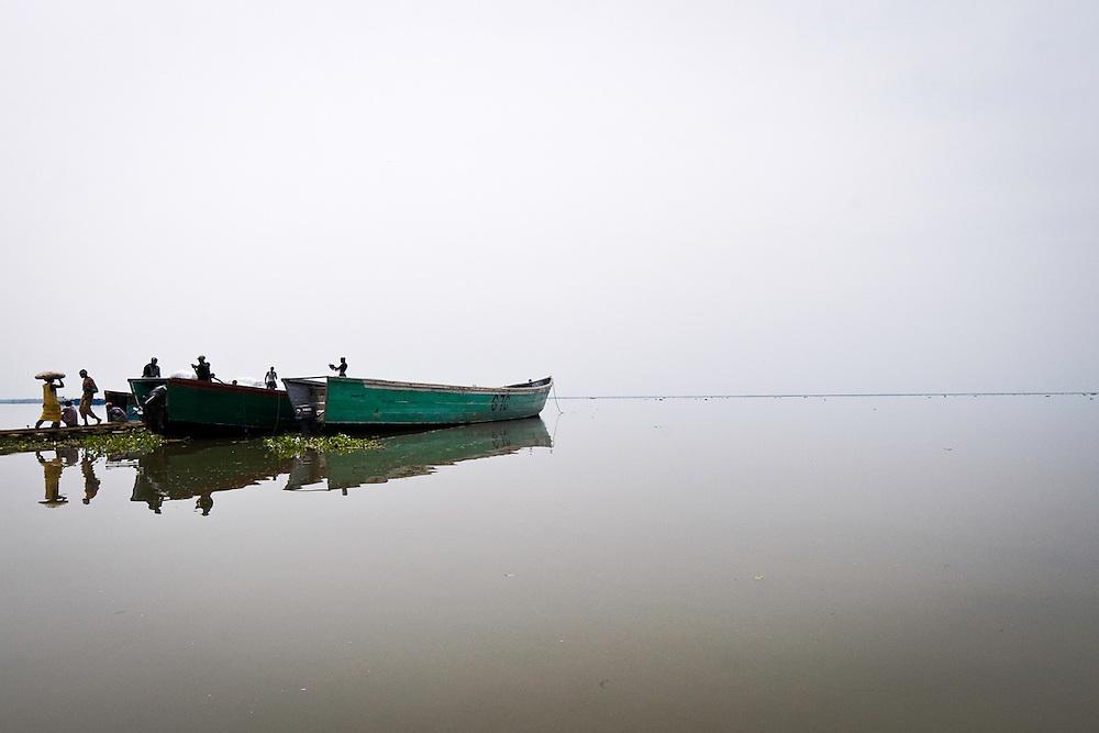 Lake Albert, Uganda. 2011.