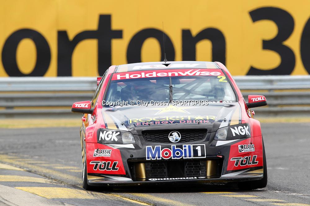 Garth Tander (Holden Racing Team). 2012 V8 Supercar Championship Series Test Day. Sandown International Raceway, Melbourne Victoria on Saturday 11 February 2012. Photo : Clay Cross / photosport.co.nz