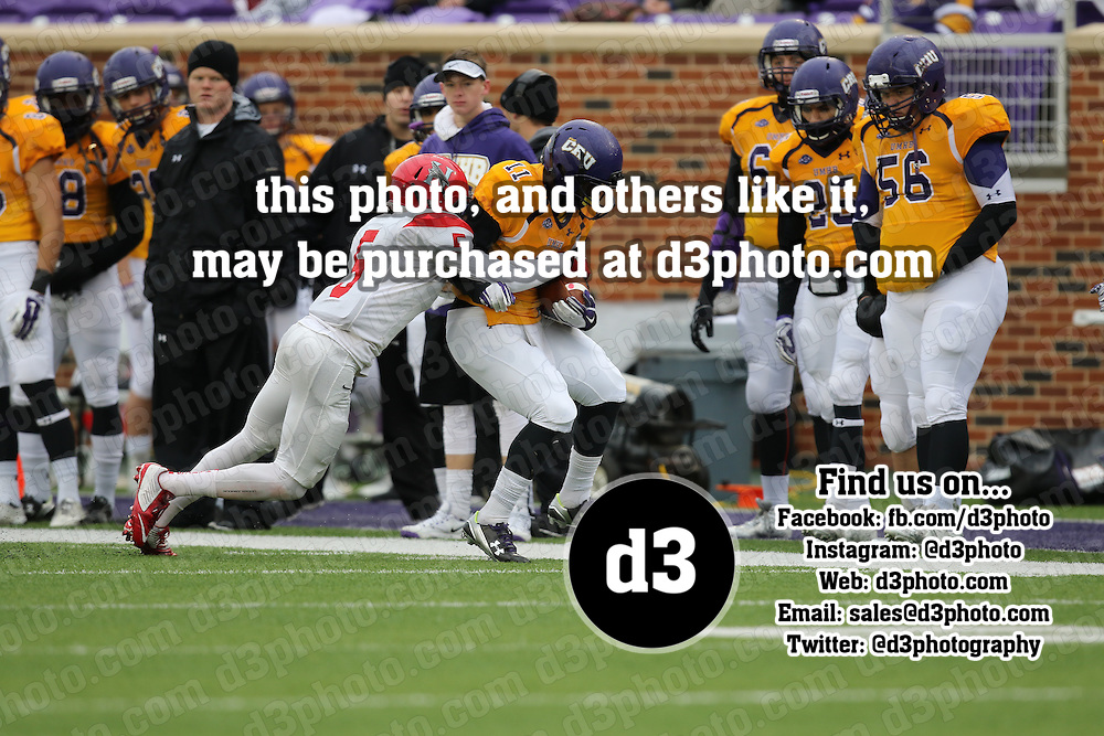 2015 NCAA Division III Football Playoff's Round 2,University of Mary Hardin Baylor,Photo Taken by: Joe Fusco, D3photography.com,