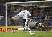Nicky Riley  scores for Dundee - Inverness Caledonian Thistle v Dundee, Clydesdale Bank Scottish Premier League at Tulloch Caledonian Stadium, Inverness.. - © David Young - www.davidyoungphoto.co.uk - email: davidyoungphoto@gmail.com