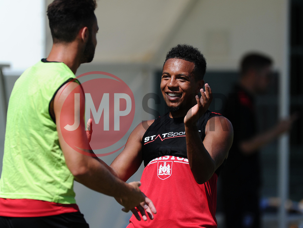Korey Smith of Bristol City  - Photo mandatory by-line: Joe Meredith/JMP - Mobile: 07966 386802 - 17/07/2015 - SPORT - Football - Albufeira -  - Pre-Season Training
