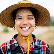 A local guide in Minnanthu Village in Bagan, Myanmar. Set amidst the archeological ruins of the Plain of Bagan, the tiny Minnanthu Village retains the traditional way of life.