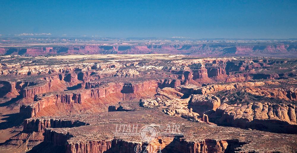 Canyonlands in south eastern Utah