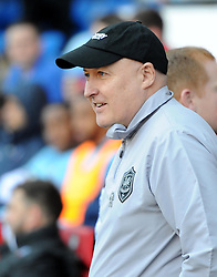 Cardiff City Manager, Russell Slade - Photo mandatory by-line: Paul Knight/JMP - Mobile: 07966 386802 - 06/04/2015 - SPORT - Football - Cardiff - Cardiff City Stadium - Cardiff City v Bolton Wanderers - Sky Bet Championship
