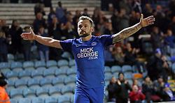 Danny Lloyd of Peterborough United celebrates scoring his second goal of the game - Mandatory by-line: Joe Dent/JMP - 23/12/2017 - FOOTBALL - ABAX Stadium - Peterborough, England - Peterborough United v Bury - Sky Bet League One