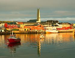 Vardø harbour, Finnmark, Norway