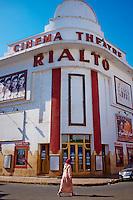 Maroc, Casablanca, cinema theatre Rialto // Morocco, Casablanca, Rialto cinema and theatre