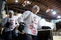 Ales Music at first practice of Slovenian National Ice Hockey team before EIHC tournament in Innsbruck, on November 4, 2013 in Ledena dvorana Bled, Bled, Slovenia. (Photo by Matic Klansek Velej / Sportida.com)