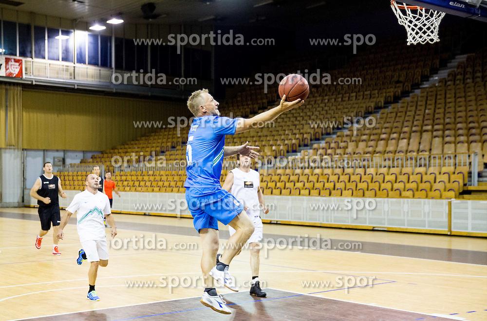 Tomaz Vnuk during football and basketball charity event All Legends by Olimpiki, on June 9, 2015 in Hala Tivoli, Ljubljana, Slovenia. Photo by Vid Ponikvar / Sportida