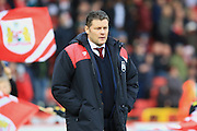 Bristol City manager Steve Cotterill during the Sky Bet Championship match between Bristol City and Blackburn Rovers at Ashton Gate, Bristol, England on 5 December 2015. Photo by Jemma Phillips.