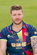 Matt Coles of Kent  during the Kent County Cricket Club Headshots 2017 Press Day at the Spitfire Ground, Canterbury, United Kingdom on 31 March 2017. Photo by Martin Cole.