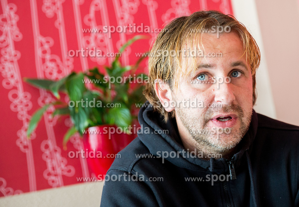 Interview of Nastja Ceh, Slovenian Football player and manager in NK Drava Ptuj, on January 5, 2015 in Ptuj, Slovenia.  Photo by Vid Ponikvar / Sportida