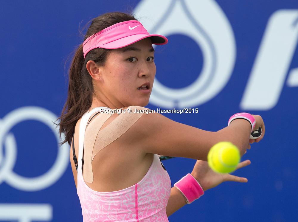 Lin Zhu (CHN)<br /> <br /> Tennis - PTT Thailand Open 2015 - WTA -  Dusit Thani Hotel - Pattaya - Chonburi - Thailand  - 12 February 2015.