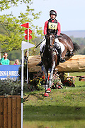 Ben Edwards on Persian Fire during the International Horse Trials at Chatsworth, Bakewell, United Kingdom on 13 May 2018. Picture by George Franks.