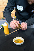 DRY FARMING COLLABORATIVE Showcase: 'Whipple' bean, 'Open Oak Party Mix' corn, 'Stella Blue' squash, <br /> Researchers: Amy Garrett & Lucas Nebert, OSU Farmers: Harry Short, Mudjoy Farm & Chris Homanics Chefs: Timothy Wastell, Antica Terra;