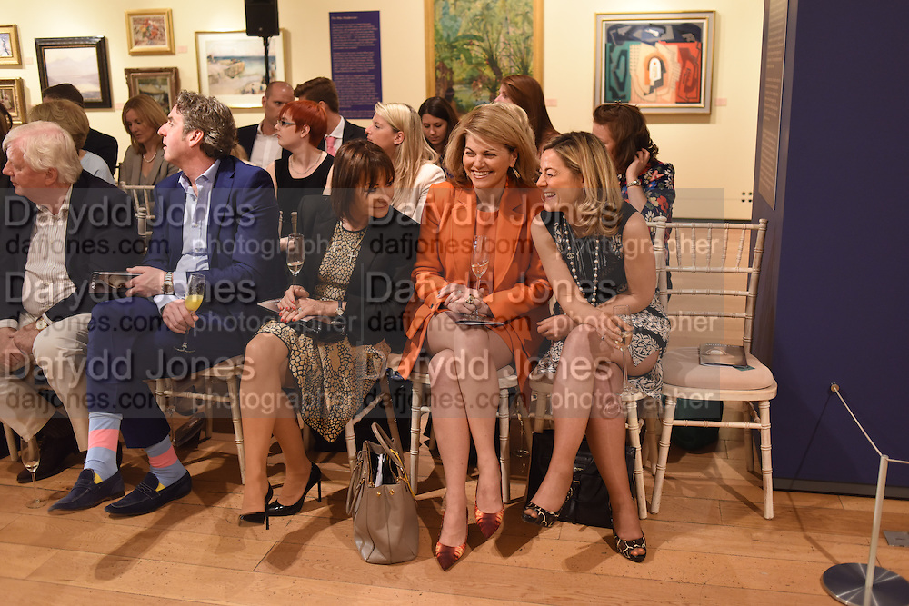 MADELEINE DELANY; ANNIE RODGERS; RACHEL NORTON, The Arthur Cox Irish Fashion Showcase 2015,  Irish based designers chosen to be part of this year's Arthur Cox Irish Fashion Showcases The Mall Galleries, London. 13 May 2015.