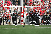 2006 NCAA Football: Ohio State v Cincinnati..Freshman Drum Major, Stew Kitchen, performs during the Ohio State vs. Cincinnati football game.<br />