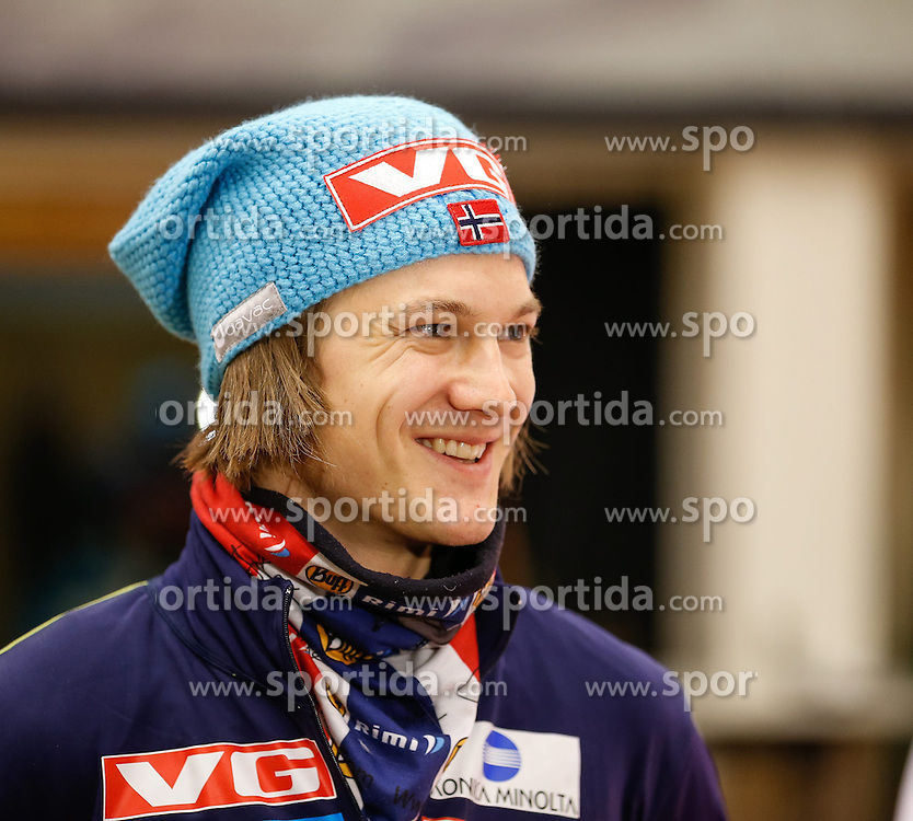 27.12.2013, Oberstdorf Haus, Oberstdorf, GER, FIS Ski Sprung Weltcup, 62. Vierschanzentournee, Offizielle Pressekonfernz, im Bild Tom Hilde (NOR) // Tom Hilde of Norway during official Press Conference of 62th Four Hills Tournament of FIS Ski Jumping World Cup at the Oberstdorf Haus, Oberstdorf, Germany on 2013/12/27. EXPA Pictures © 2013, PhotoCredit: EXPA/ Peter Rinderer