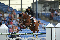 Majher Patrik, (SVK), Caliber 5<br /> Team Competition round 1 and Individual Competition round 1<br /> FEI European Championships - Aachen 2015<br /> © Hippo Foto - Stefan Lafrentz<br /> 19/08/15