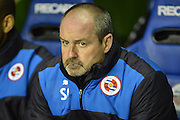 Reading's Manager Steve Clarke during the Sky Bet Championship match between Reading and Queens Park Rangers at the Madejski Stadium, Reading, England on 3 December 2015. Photo by Mark Davies.