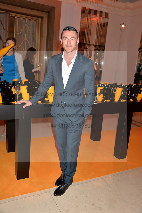 LUKE EVANS at the Veuve Clicquot Business Woman Awards held at Claridge's, Brook Street, London on 11th May 2015.