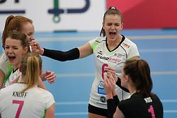 20190131 NED: Semi Final Cup Sliedrecht Sport - Eurosped, Sliedrecht <br />Dagmar Boom (6) of Team Eurosped Twente<br />©2019-FotoHoogendoorn.nl / Pim Waslander