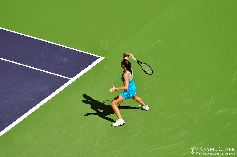 Jelena Jankovic, Serbia, WTA Player, BNP Paribas Open Tennis Tournament, Indian Wells Tennis Garden, Indian Wells, California, United States