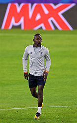 SEVILLE, SPAIN - Monday, November 20, 2017: Liverpool's Sadio Mane during a training session ahead of the UEFA Champions League Group E match between Sevilla FC and Liverpool FC at the Estadio Ramón Sánchez Pizjuán. (Pic by David Rawcliffe/Propaganda)