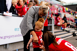 Tanya Oxtoby manager of Bristol City Women and Carla Humphrey of Bristol City  - Mandatory by-line: Ryan Hiscott/JMP - 07/09/2019 - FOOTBALL - Ashton Gate - Bristol, England - Bristol City Women v Brighton and Hove Albion Women - FA Women's Super League