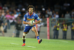 Dillyn Leyds of the DHL Stormers  during the Super Rugby match between the DHL Stormers and the Vodacom Blue Bulls at Newlands Stadium in Cape Town on the 25th February 2017