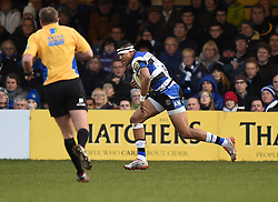 Bath Rugby fullback Anthony Watson - Photo mandatory by-line: Paul Knight/JMP - Mobile: 07966 386802 - 10/01/2015 - SPORT - Rugby - Bath - The Recreation Ground - Bath Rugby v Wasps - Aviva Premiership