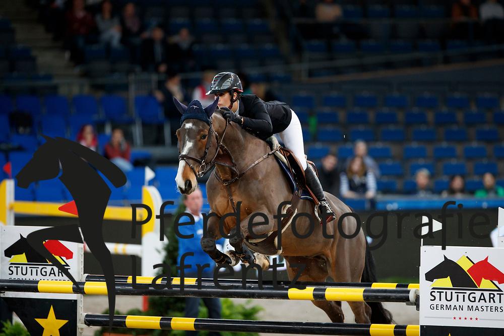 Martin, Maelle (FRA) Ivory Ter Doorn<br /> Stuttgart - German Masters 2016<br /> © www.sportfotos-lafrentz.de