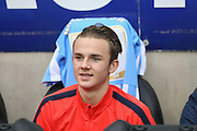 Coventry City midfielder James Maddison  during the Sky Bet League 1 match between Coventry City and Port Vale at the Ricoh Arena, Coventry, England on 26 December 2015. Photo by Simon Davies.