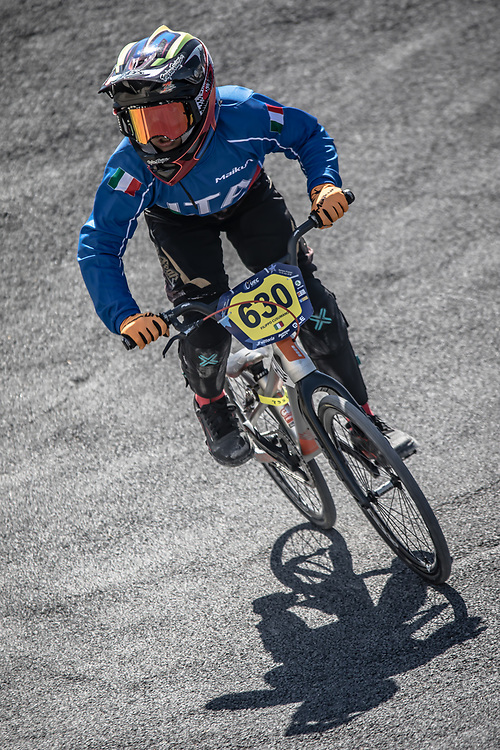 2018 UEC European Championships<br /> Sarrians, France<br /> Training<br /> #630 ITA