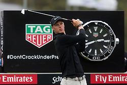 November 15, 2018 - Sydney, NSW, U.S. - SYDNEY, AUSTRALIA - NOVEMBER 15: Cameron Davis (AUS) tees off from the 10th hole at Day 1 of The Emirates Australian Open Golf on November 15, 2019, at The Lakes Golf Club in Sydney, Australia. (Photo by Speed Media/Icon Sportswire) (Credit Image: © Speed Media/Icon SMI via ZUMA Press)