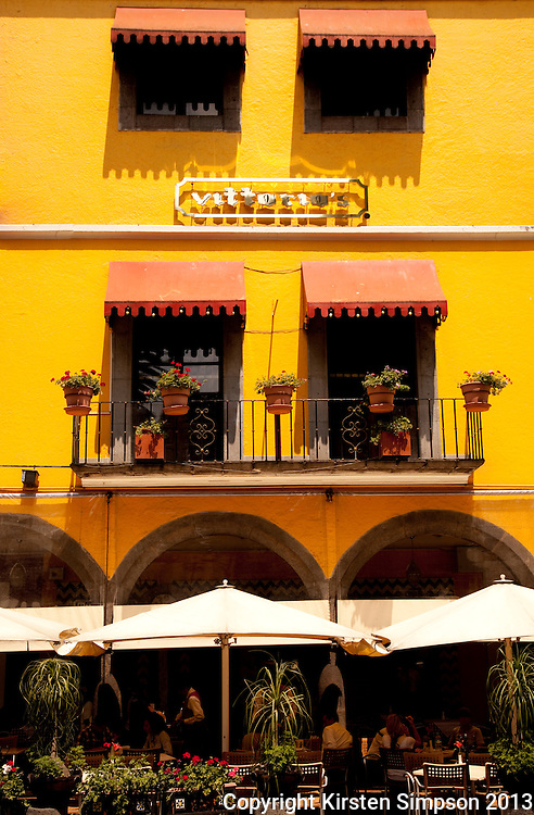 Restaurant on the Zocolo in Puebla