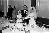 1967 Wedding of George Walsh and Miss Arlene McMahon at the Carmelite Church, Terenure College, Dubl