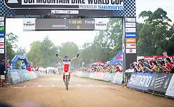 Julien Absalon is triumphant in the UCI Mountainbike World Cup Pietermaritzburg 2014.