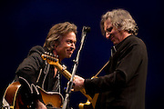 "Jim Lauderdale at the 2008 New York Guitar Festival on Saturday 1/12/2008 at the World Financial Center Winter Garden in lower Manhattan. The opening night concert of the festival was titled the ""Royal Albert Hall"" Project a tribute to Bob Dylan's early 'electric' concerts in England in 1966. Mr. Lauderdale performed 'Tell me Momma'."