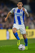 Anthony Knockhaert (Brighton) during the FA Cup fourth round match between Brighton and Hove Albion and West Bromwich Albion at the American Express Community Stadium, Brighton and Hove, England on 26 January 2019.