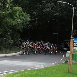 29-08-2018: Wielrennen: Ladies Tour: Nijmegen<br /> Peloton op een beklimming