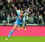 © Filippo Alfero<br /> Juventus-Napoli, Serie A 2013-2014<br /> Torino, 10/11/2013<br /> sport calcio<br /> Nella foto:
