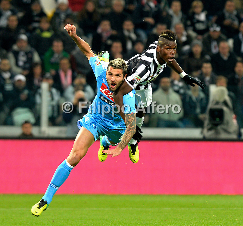 &copy; Filippo Alfero<br /> Juventus-Napoli, Serie A 2013-2014<br /> Torino, 10/11/2013<br /> sport calcio<br /> Nella foto: