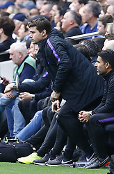 May 12, 2019 - London, England, United Kingdom - Tottenham Hotspur manager Mauricio Pochettino .during English Premier League between Tottenham Hotspur and Everton at Tottenham Hotspur Stadium , London, UK on 12 May 2019. (Credit Image: © Action Foto Sport/NurPhoto via ZUMA Press)