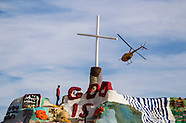 Salvation Mountain in Niland, Califonia